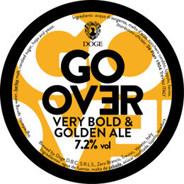 GO OVER | STRONG ALE | BIRRIFICIO DEL DOGE | ITALIA