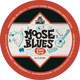 MOOSE BLUES | DOUBLE | VERZET | BELGIO