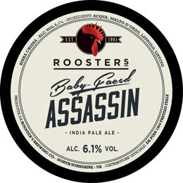 BABY FACED ASSASSIN | AMERICAN PALE ALE | ROOSTER'S BREWING CO. | GRAN BRETAGNA