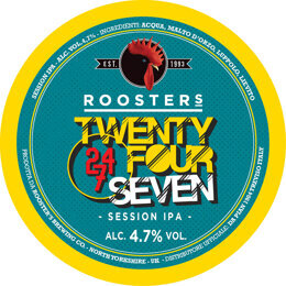 24/7 | SESSION IPA | ROOSTER'S BREWING CO. | GRAN BRETAGNA