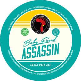 BABY FACED ASSASSIN | AMERICAN IPA | ROOSTER'S BREWING CO. | GRAN BRETAGNA