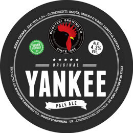 YANKEE | PALE ALE | ROOSTER'S BREWING CO. | GRAN BRETAGNA