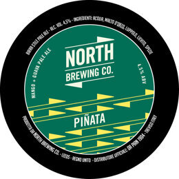 PINATA TROPICAL IPA | SESSION IPA | NORTH BREWING | GRAN BRETAGNA