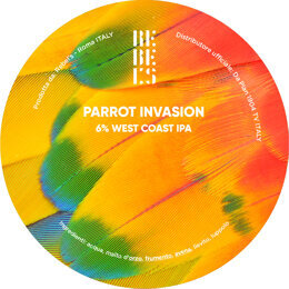 PARROT INVASION | IPA | REBEL'S | ITALIA