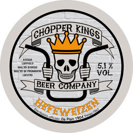 CHOPPER KINGS HEFEWEIZEN | VIENNA LAGER | CHOPPER KING BEER COMPANY | ITALIA